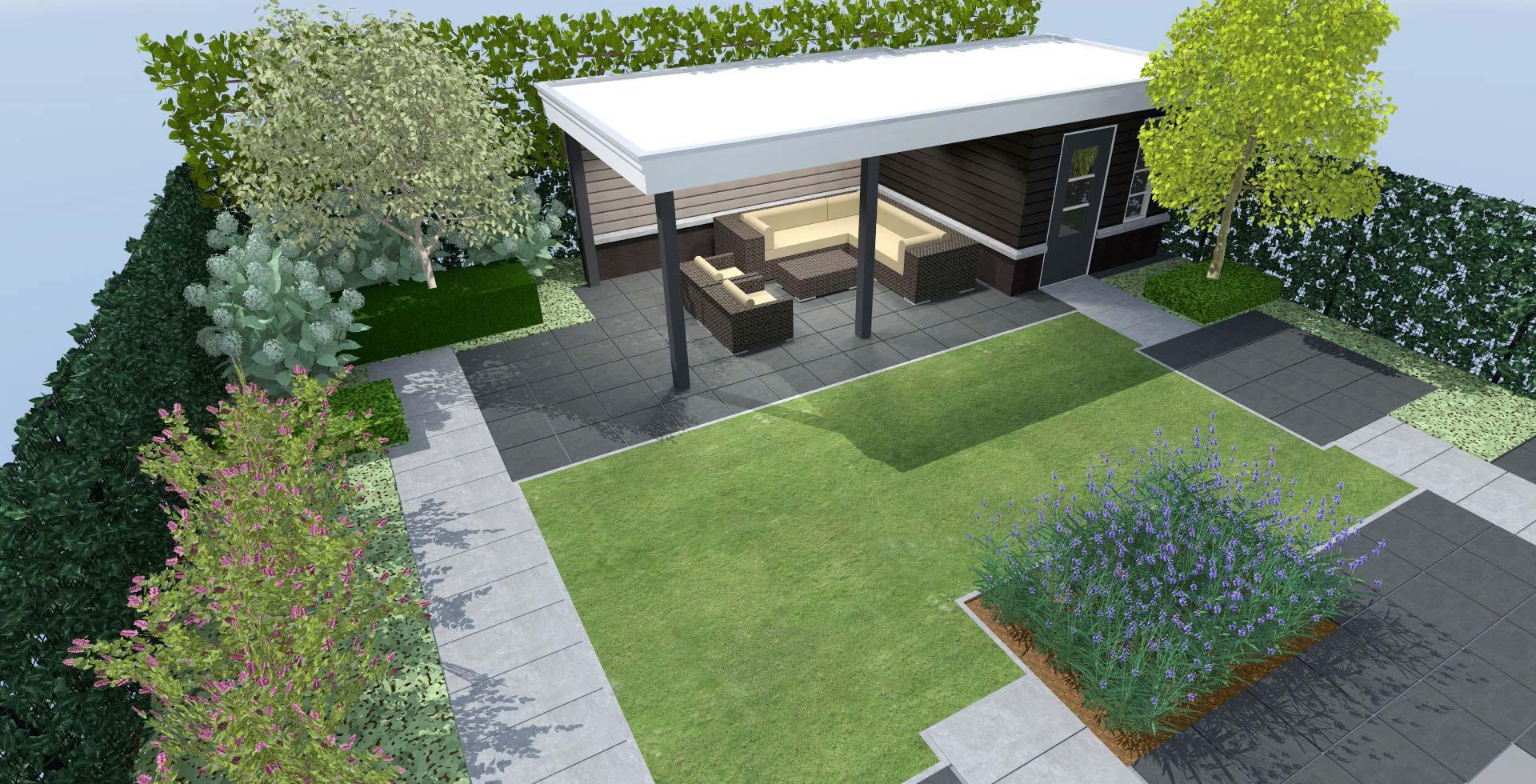 Hoveniersbedrijf bram bovenmars tuinen tuinontwerp for 3d tuin ontwerpen